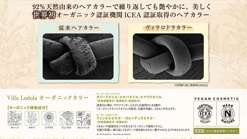 戸塚の美容院ITAL / 戸塚駅前徒歩3分 オーガニックヘア説明