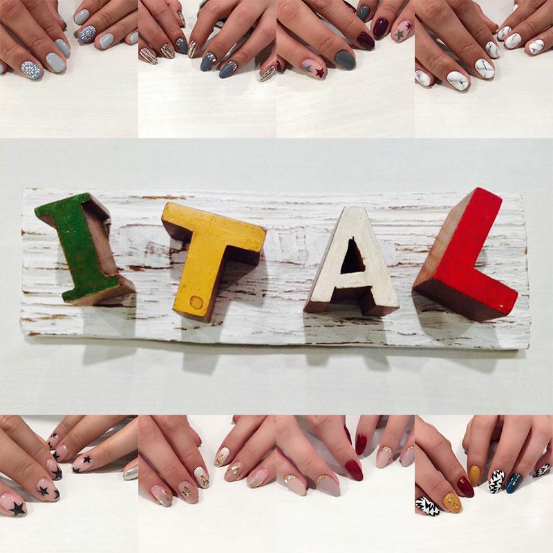 戸塚の美容院ITAL 店舗イメージその2 ITAL看板&ネイル